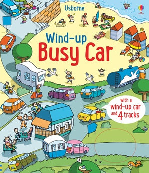 Wind Up Busy Car Book (Board)