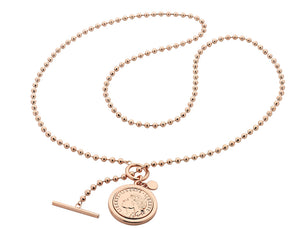 Romulus Rose Gold Necklace