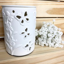 Load image into Gallery viewer, Oil Burner (Electric) - White Butterfly