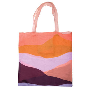Foldable Shopper - Purple Abstract