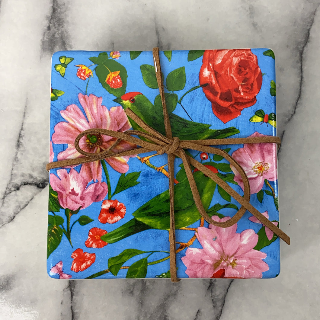 Coasters - Rose (Set of 4)