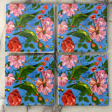 Load image into Gallery viewer, Coasters - Rose (Set of 4)