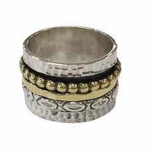 Load image into Gallery viewer, Sterling Silver Spinning Ring - Size 9
