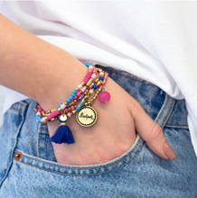 Load image into Gallery viewer, Charm Bracelet Stack - Believe