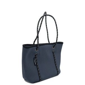 Mini Neoprene Tote Charcoal