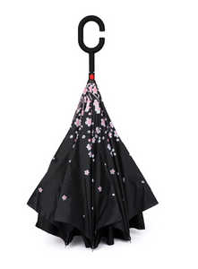 Reverse Umbrella - Cherry Blossom