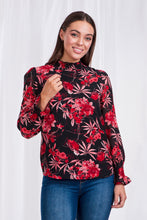 Load image into Gallery viewer, Floral Printed Blouse