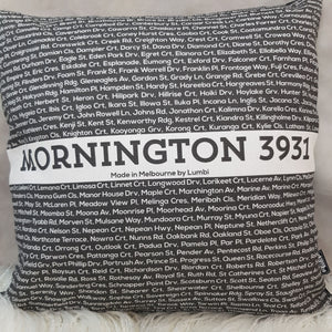 Cushion - Postcode: Mornington