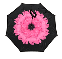 Load image into Gallery viewer, Reverse Umbrella - Pink Gerbera
