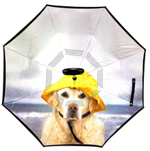 Load image into Gallery viewer, Reverse Umbrella - Rain Dog
