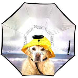 Reverse Umbrella - Rain Dog