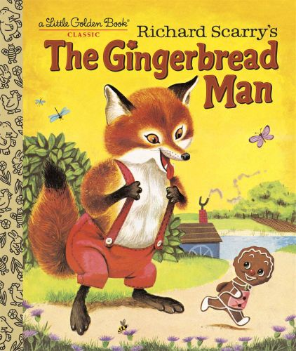 Little Golden Book Richard Scarry's The Gingerbread Man