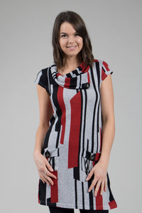 Striped Block Tunic