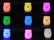 Load image into Gallery viewer, Bedtime Buddy - Teddy the Bear Night Light