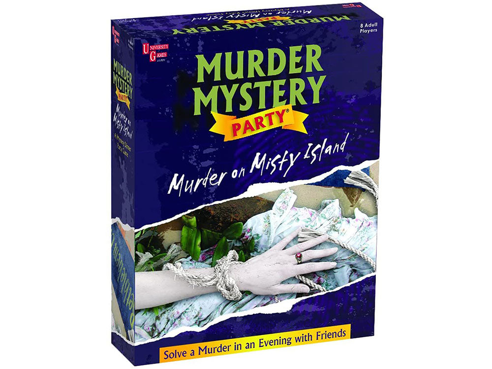 Murder on Misty Island - Murder Mystery Party