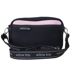 Crossbody Neoprene Pink/Black