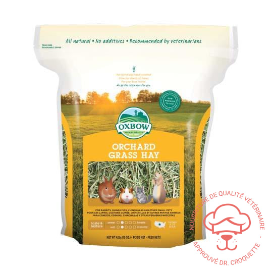 Oxbow Foin Orchard Grass sac/15 oz - DrCroquette