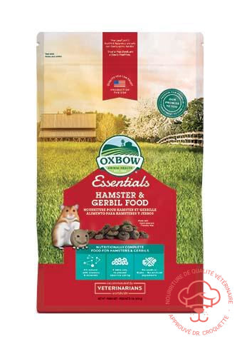 Oxbow Healthy Handfuls pour hamsters et gerboises sac / 1 lb