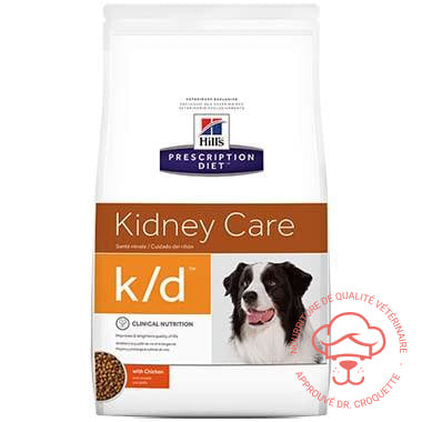 Prescription Diet canine k/d poulet - DrCroquette