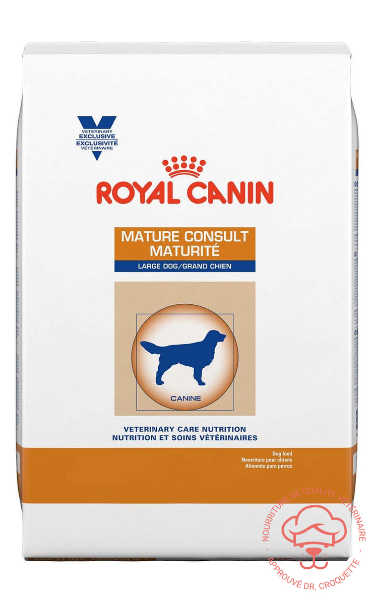 RC Vet. Diet Canine Mature Consult Grand Chien Sac13 kg - DrCroquette