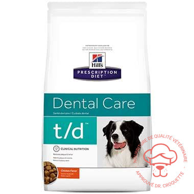 Prescription Diet canine t/d|Prescription Diet canine t/d - DrCroquette