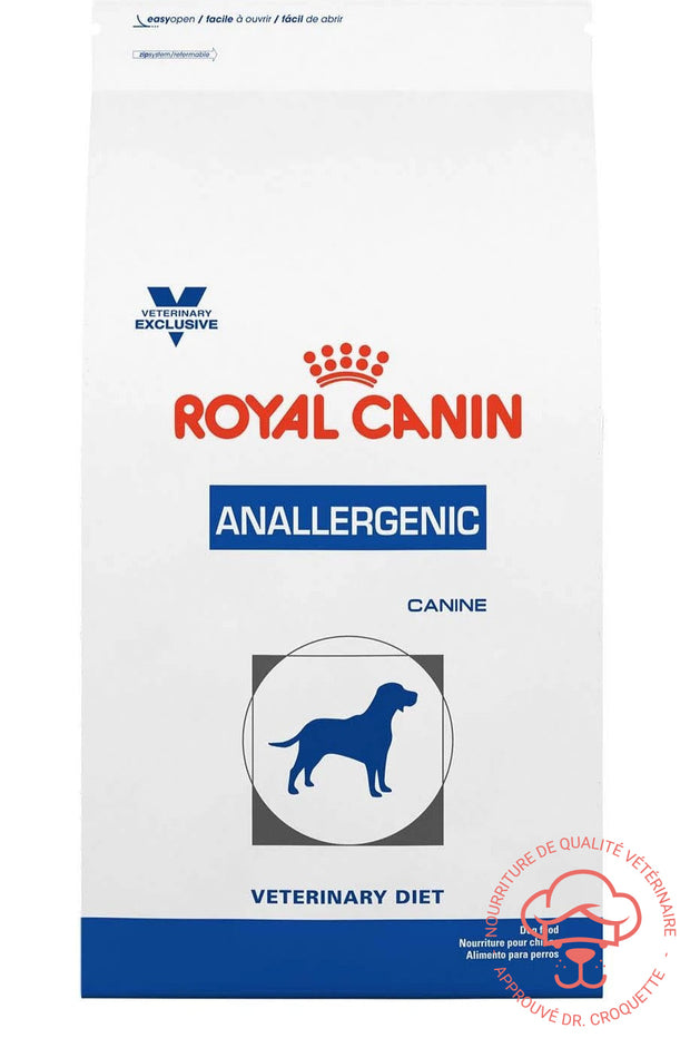 RC Vet. Diet canine Anallergénique