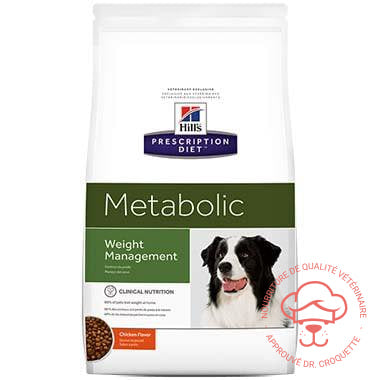 Prescription Diet canine Metabolic - DrCroquette
