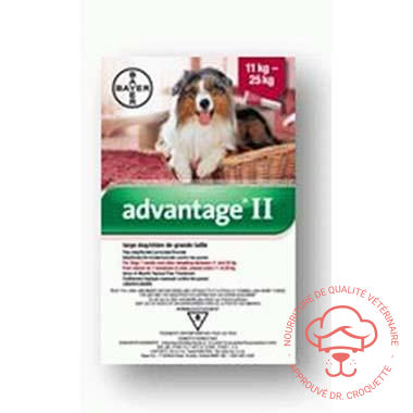 Advantage II chien Grand 11-25 kg - DrCroquette