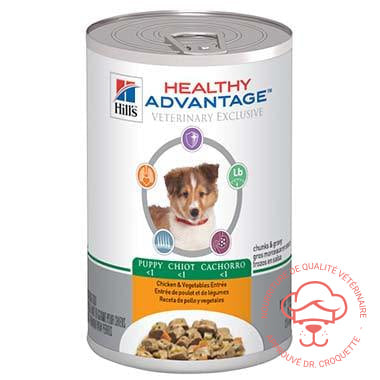 Healthy Advantage Puppy Chicken & Vegetables Entrée Can