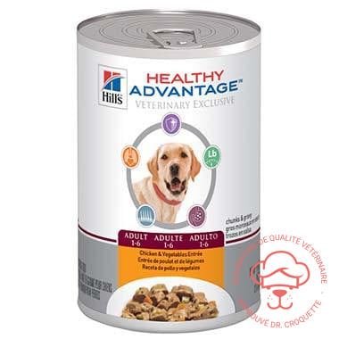 Healthy Advantage Canine Chicken & Vegetables Entrée Can