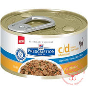 Prescription Diet féline c/d Multicare bte 24 x 2,9 oz - DrCroquette