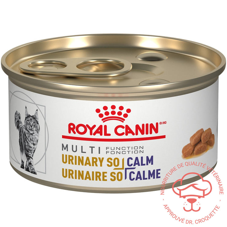 RC Vet. Diet féline Multi Urinary + Calm bte 24x85g - DrCroquette