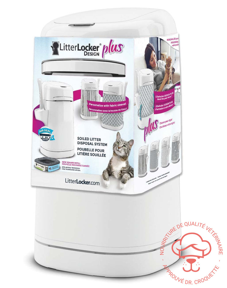 LitterLocker Design Plus litière - DrCroquette