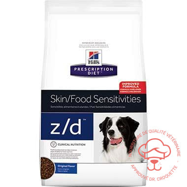 Prescription Diet canine z/d Ultra Non Allergène - DrCroquette