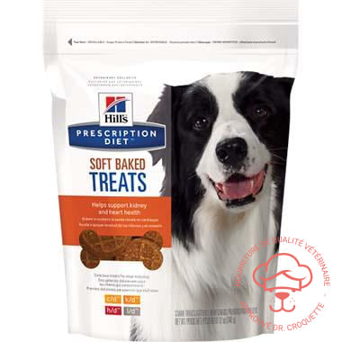 Prescription Diet canine Soft Baked douceurs sac/12 oz - DrCroquette