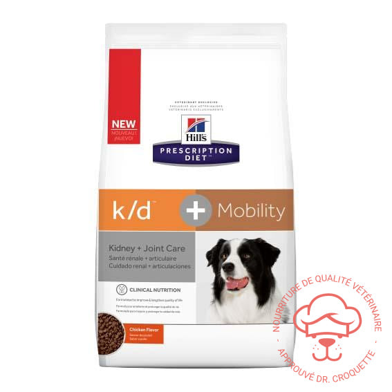 Prescription Diet canine k/d Mobility sac - DrCroquette