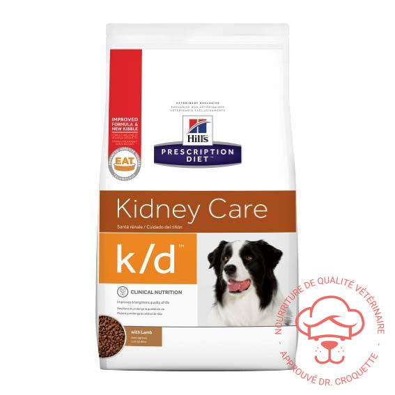 Prescription Diet canine k/d agneau sac - DrCroquette