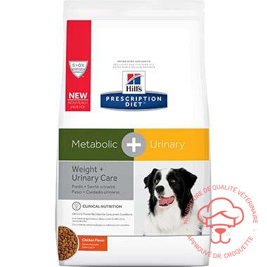 Prescription Diet canine Metabolic + Urinary sac - DrCroquette