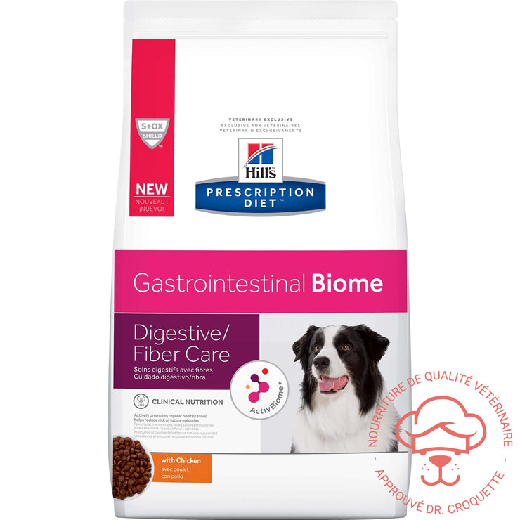 Prescription Diet canine GI Biome - DrCroquette