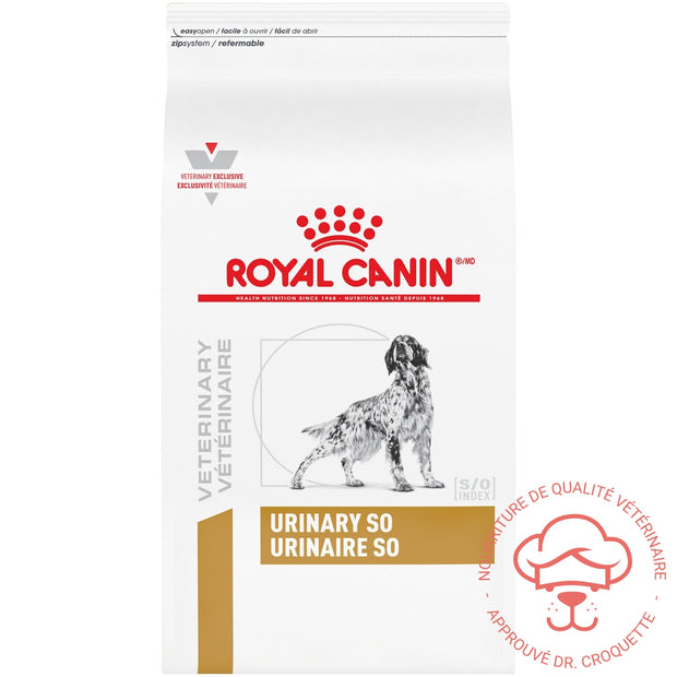 RC Vet. Diet canine Urinary S/O - DrCroquette