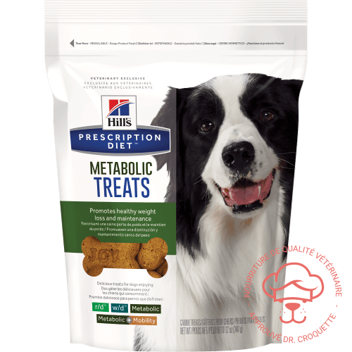Prescription Diet canine douceurs Metabolic - DrCroquette