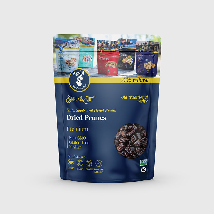 Dried Pitted Prunes (Plums)