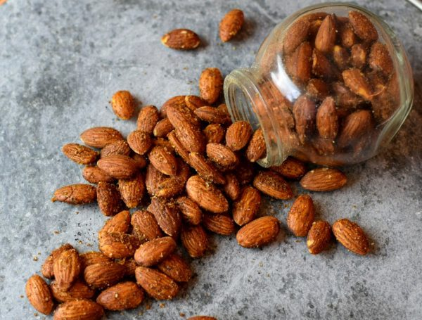 Roasted BBQ Almonds