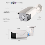 5MP Face Recognition Camera | POE | Audio | Outdoor Waterproof | Infrared Night Vision | Onvif