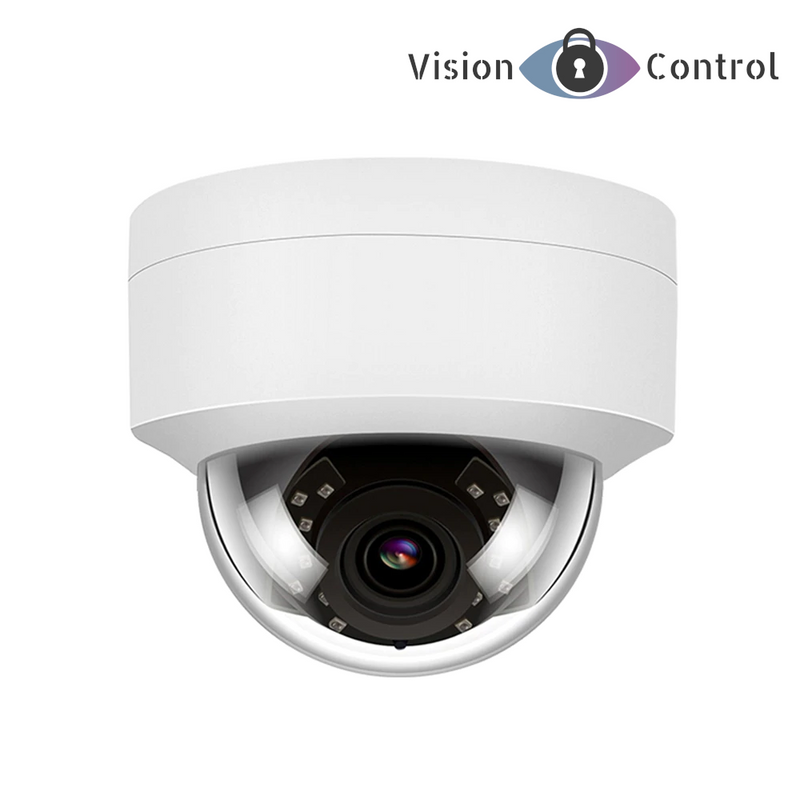 4K Dome Camera | POE | IP | 8MP | Audio | Waterproof | IR Night Vision | Onvif