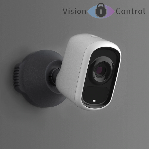 Vision Control BP1 Battery Camera | 1080p | Night Vision | Motion Detection | Intercom | Outdoor