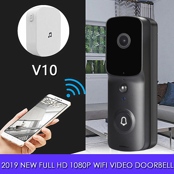 Vision Control DB1 Smart Doorbell Camera | HD | Intercom | Night vision | Wireless
