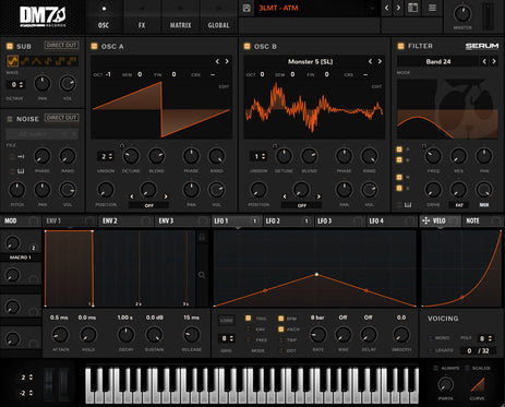 DM7 RECORDS SERUM SKIN