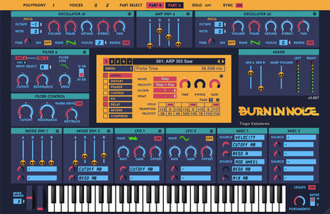 BURN IN NOISE SYLENTH 01 SKIN