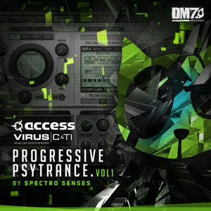 ACCESS VIRUS C + TI - PROGRESSIVE PSYTRANCE VOL. 1